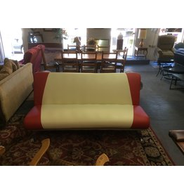 Click clack sofa / leather