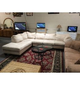 2@ piece sectional / cream