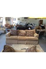 Sofa / brown tweed
