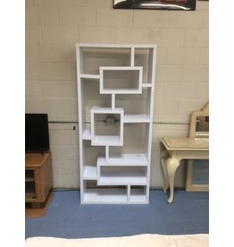Wall storage cube / white