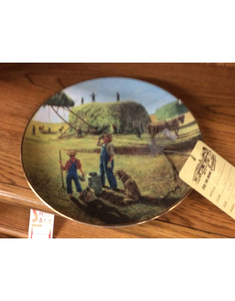 Decor plate farming