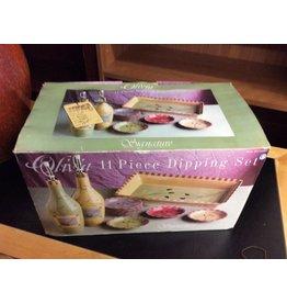 11 pc dipping set