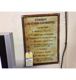 Wall decor 10 commandments