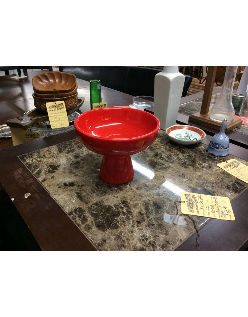 Dipping bowl red