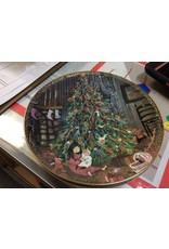 Decor plate Christmas tree