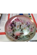 Decor plate flowers