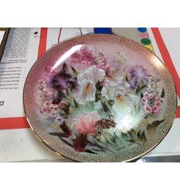 Decor plate flowers