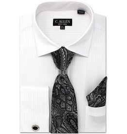 C. Allen C. Allen Shirt Set - JM211 White