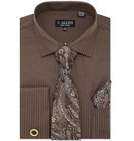C. Allen C. Allen Shirt Set - JM211 Brown