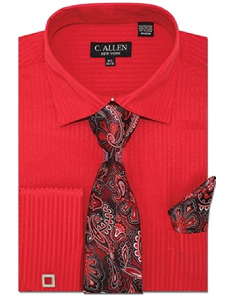 C. Allen C. Allen Shirt Set - JM211 Red