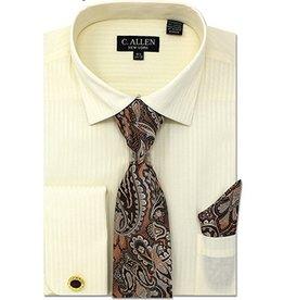 C. Allen C. Allen Shirt Set - JM211 Ivory