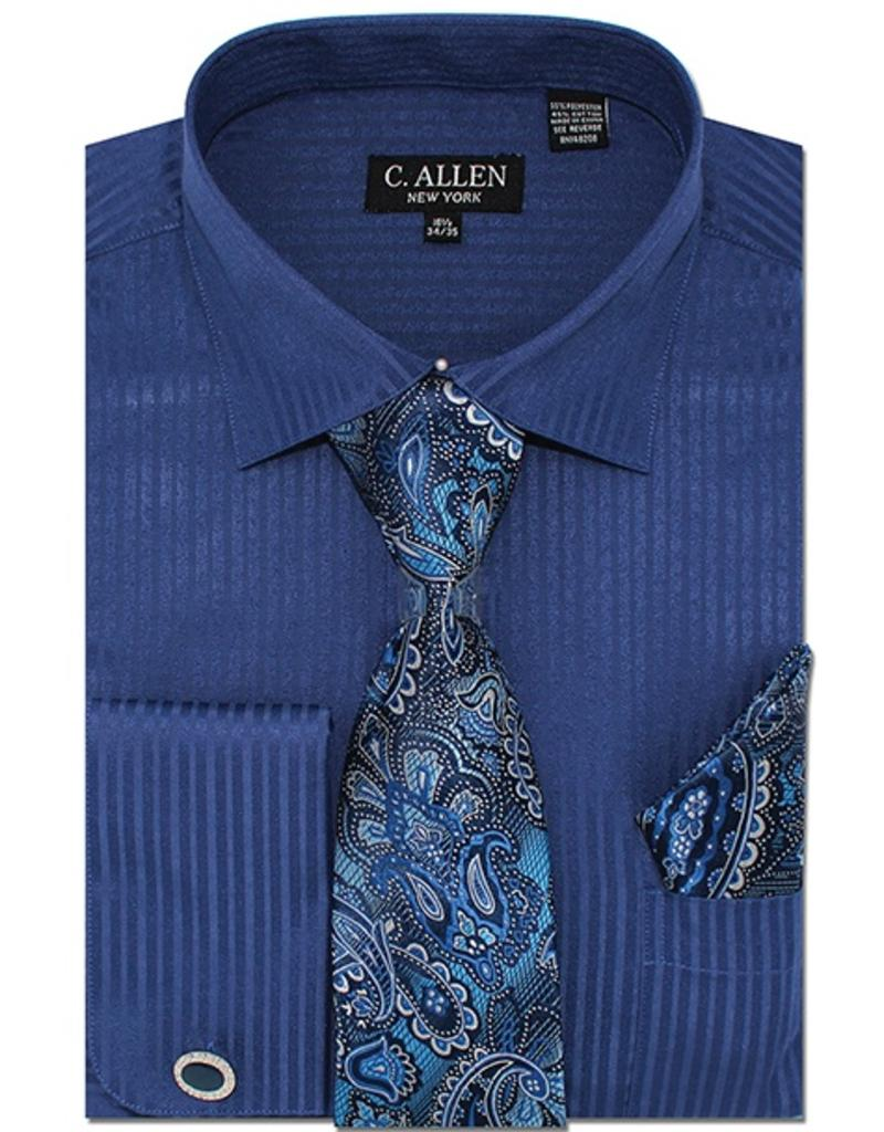 C. Allen C. Allen Shirt Set - JM211 Navy