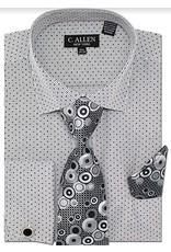 C. Allen C. Allen Shirt Set - JM214 Black