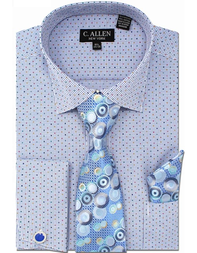 C. Allen C. Allen Shirt Set - JM214 Blue