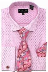 C. Allen C. Allen Shirt Set - JM214 Pink