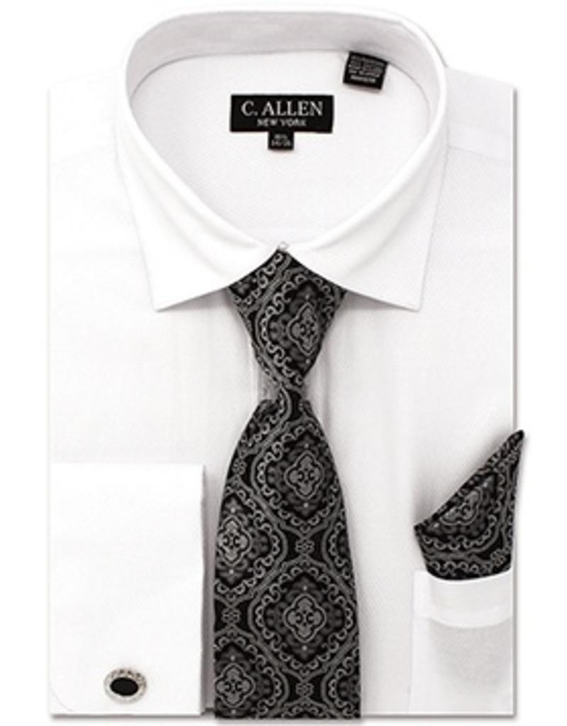 C. Allen C. Allen Shirt Set - JM212 White