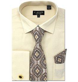 C. Allen C. Allen Shirt Set - JM212 Beige