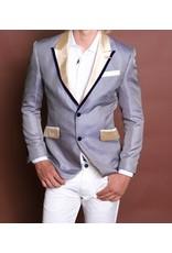 Barabas Barabas Slim Fit Blazer - BL030 Navy