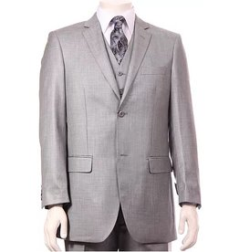 Vitali Vitali Vested Suit - M3090 Stone