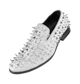 Amali Amali Spike Formal Shoe - Mesa Silver