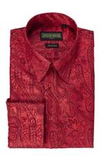 Inserch Inserch Paisley Jacquard Shirt - 2266 Red
