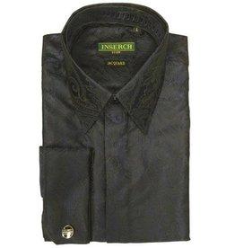 Inserch Inserch Paisley Jacquard Shirt - 2261 Black
