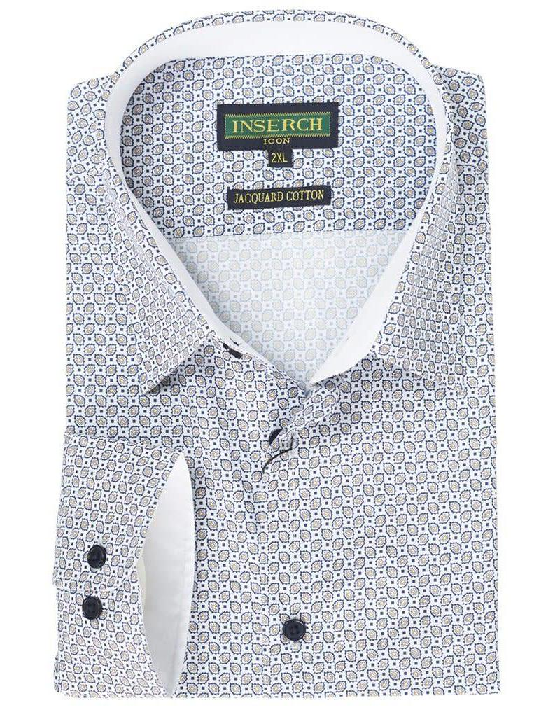 Inserch Inserch Paisley Shirt - 2325 White