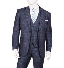 Lorenzo Bruno Lorenzo Bruno Vested Suit - T62PD Blue