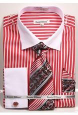 Daniel Ellissa Daniel Ellissa Shirt Set - DS3787 Red