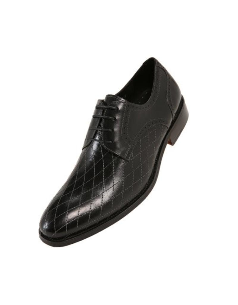 Asher Green Asher Green Leather Dress Shoe - AG369 Black