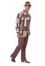 Montique Montique Long Sleeve Pantset - 1819 Brown