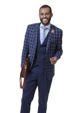 EJ Samuel EJ Samuel Suit M2714 Navy Blue