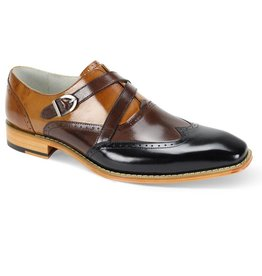Giovanni Giovanni Felix Dress Shoe - Black/Brown/Tan
