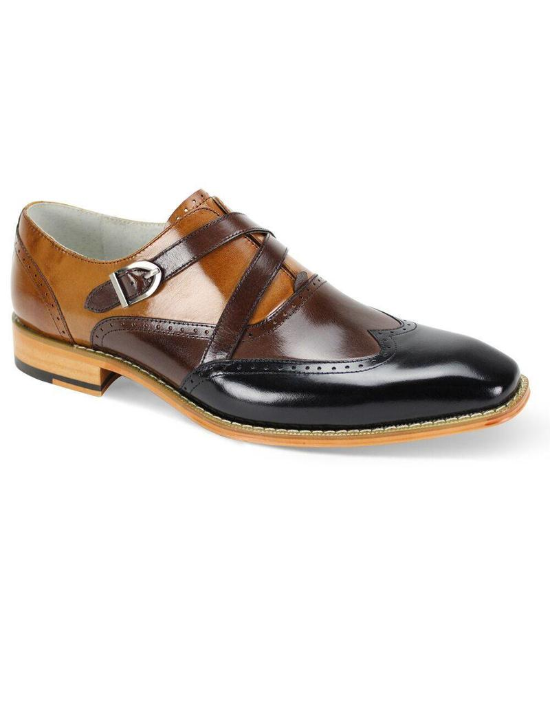 Giovanni Giovanni Felix Dress Shoe - Black/Brown/Tan