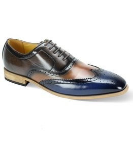 Antonio Cerrelli Antonio Cerrelli 6781 Dress Shoe - Navy/Scotch/Brown
