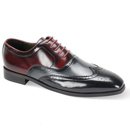 Antonio Cerrelli Antonio Cerrelli 6781 Dress Shoe - Black/Gray/Burgundy