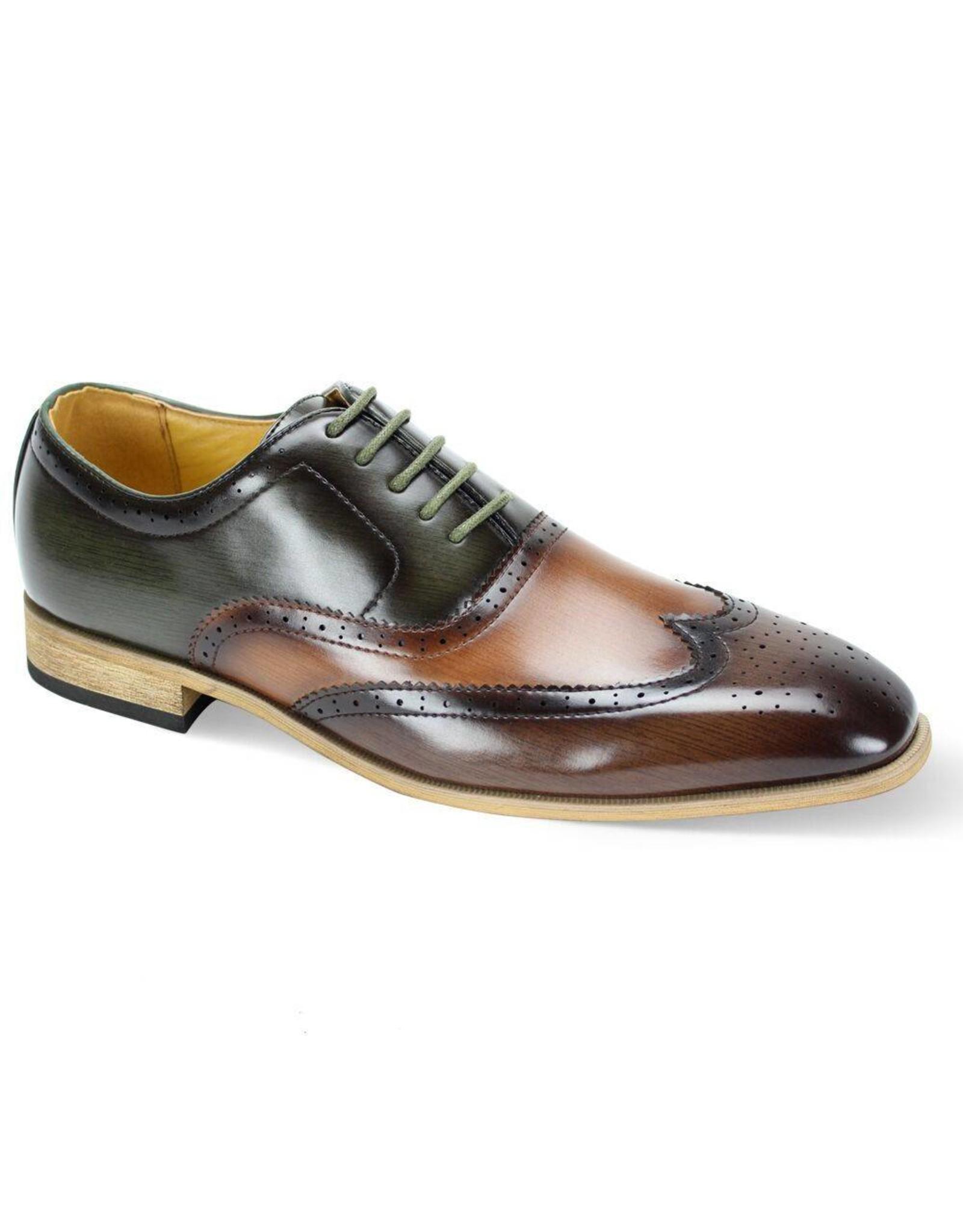 Antonio Cerrelli Antonio Cerrelli 6781 Dress Shoe - Brown/Scotch/Olive