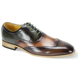 Antonio Cerrelli Antonio Cerrelli 6781 Dress Shoe - Brown/Scotch/Olive