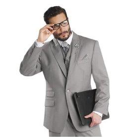 EJ Samuel EJ Samuel Vested Suit - M2683 Gray