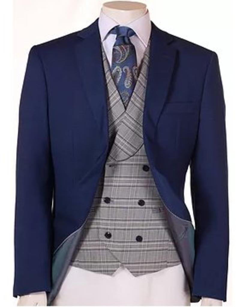 Vitali Vitali Vested Suit - M6249 Royal