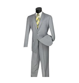 Vinci Vinci Suit - 2C9002 Light Gray