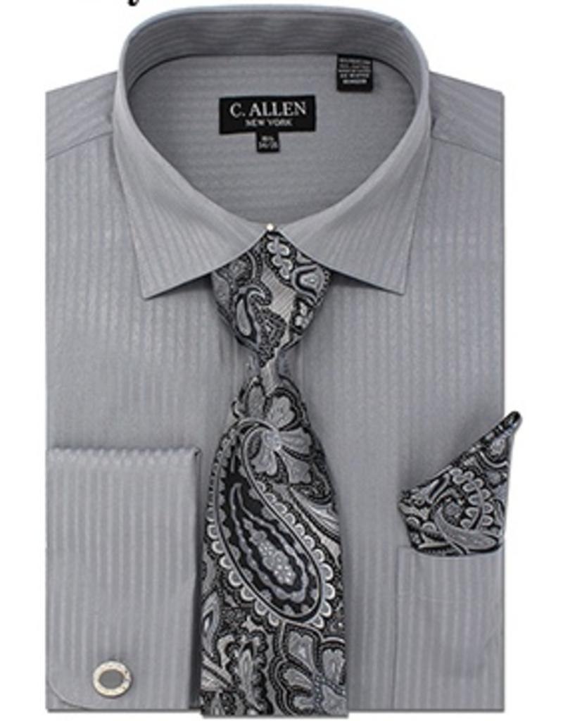 C. Allen C. Allen Shirt Set - JM211 Gray