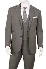 Lorenzo Bruno Lorenzo Bruno Vested Suit - T62BR Oxford