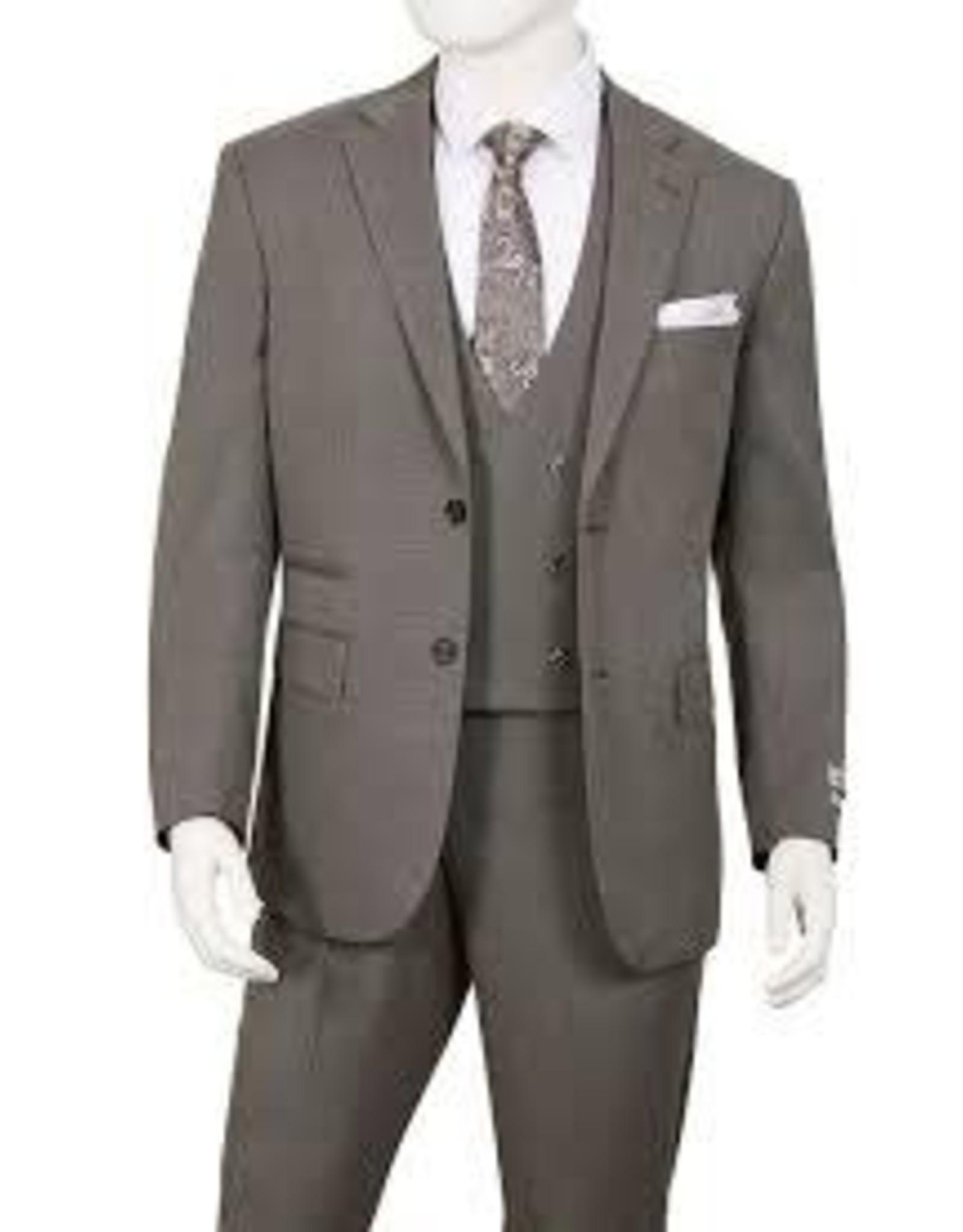 Lorenzo Bruno Lorenzo Bruno Vested Suit - T62BR Oxford