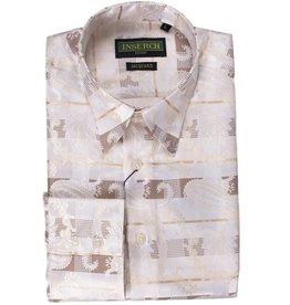 Inserch Inserch Paisley Jacquard Shirt - 2267 Off White