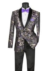 Vinci Vinci Slim Fit Blazer - BSF9 Purple