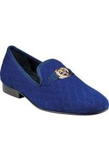 Stacy Adam Stacy Adams Valet Formal Shoe - 25166 Royal Blue