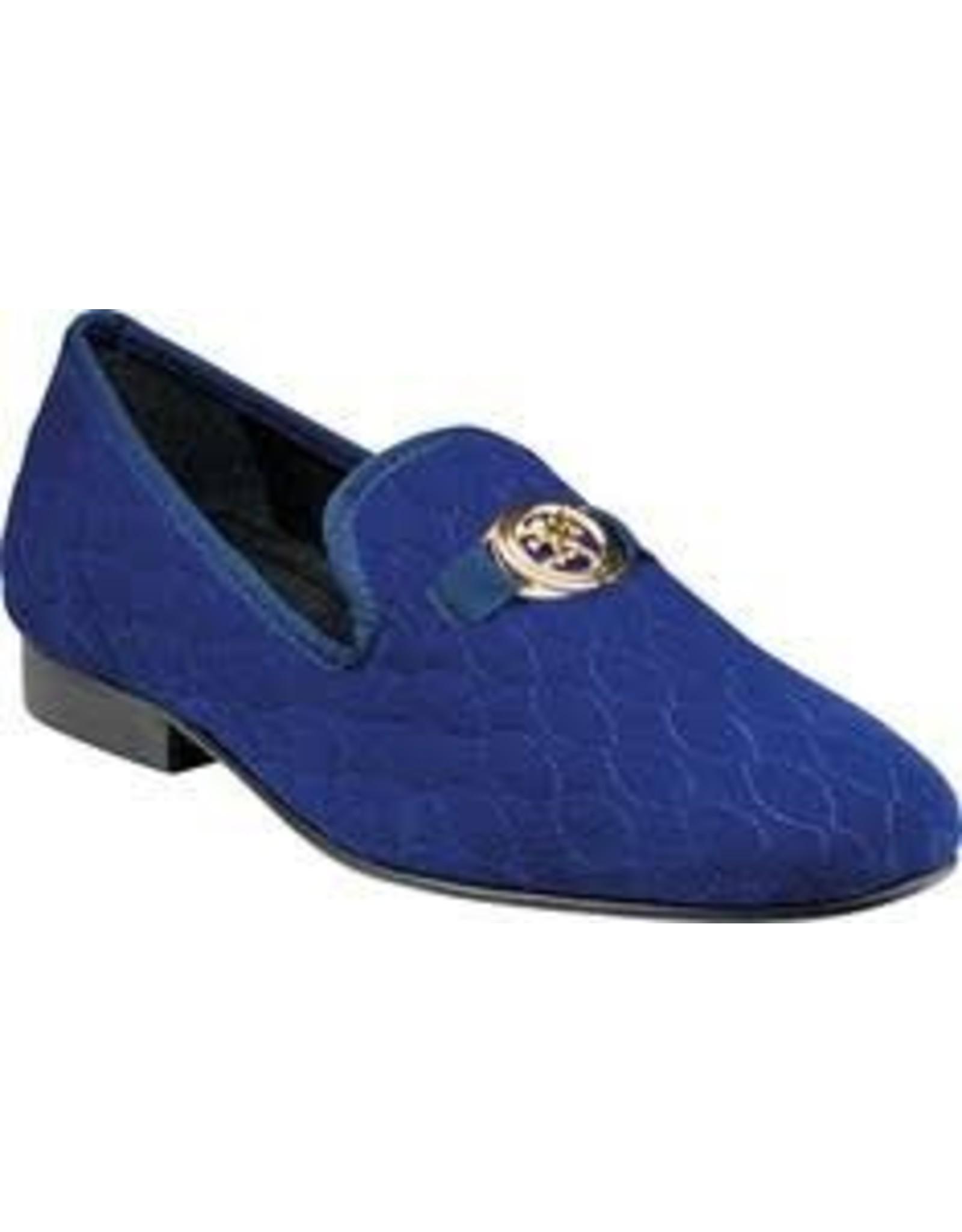 Stacy Adam Stacy Adams Valet Formal Shoe - 25166 Royal Blue