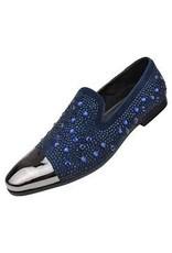Amali Amali Lugano Formal Shoe - Navy Blue