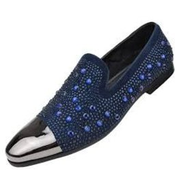 Amali Amali Lugano Formal Shoe - Navy Blue